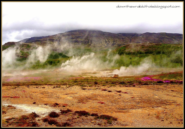 Iceland thermal activity, Golden Circle tour