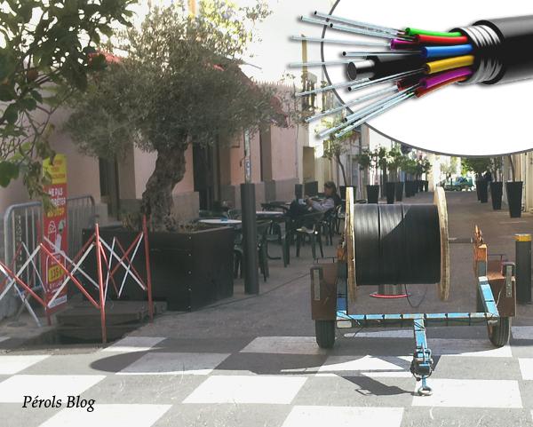La fibre optique à Pérols