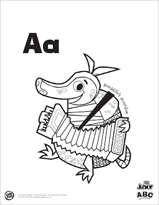 Leapfrog Alphabet Coloring Pages