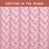Twist Cable 21 - Knitting in the round