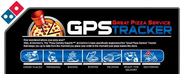 Domino's GPS Tracker
