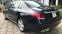 Ngoại thất Mercedes E250 2017 đã qua sử dụng màu Xanh Cavansite
