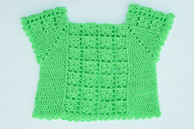 6 - Crochet Imagen Blusa de verano a crochet y ganchillo por Majovel Crochet