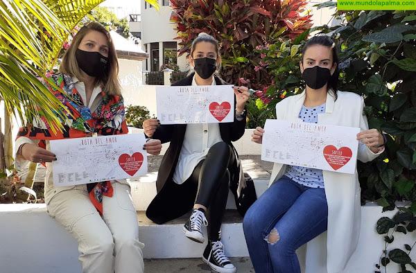 Campaña de San Valentín de la Zona Comercial Abierta de Los Llanos de Aridane