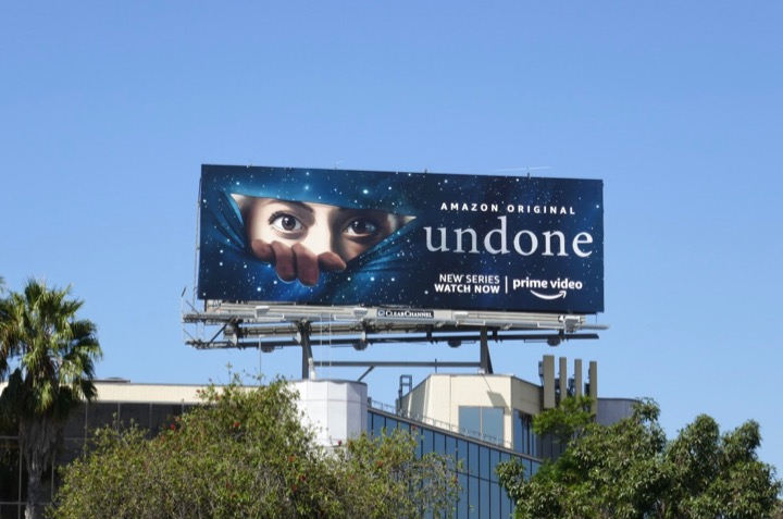 Undone series launch billboard