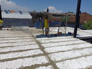 Jual Bata Ringan Bali, Pemasangan Panel Lantai Di Bali