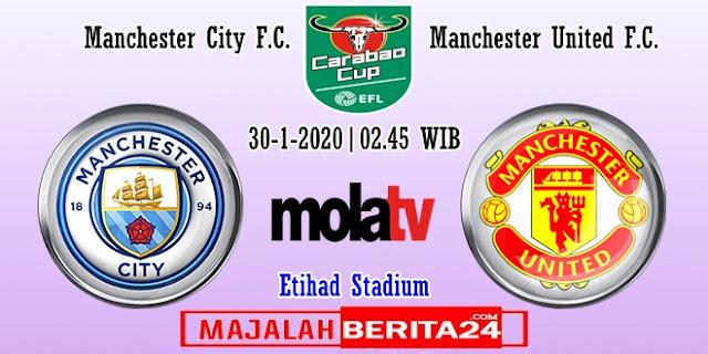Prediksi Manchester City vs Manchester United — 30 Januari 2020