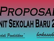 Download Contoh Proposal Pengadaan Unit Sekolah Baru (USB) 2015 Lengkap