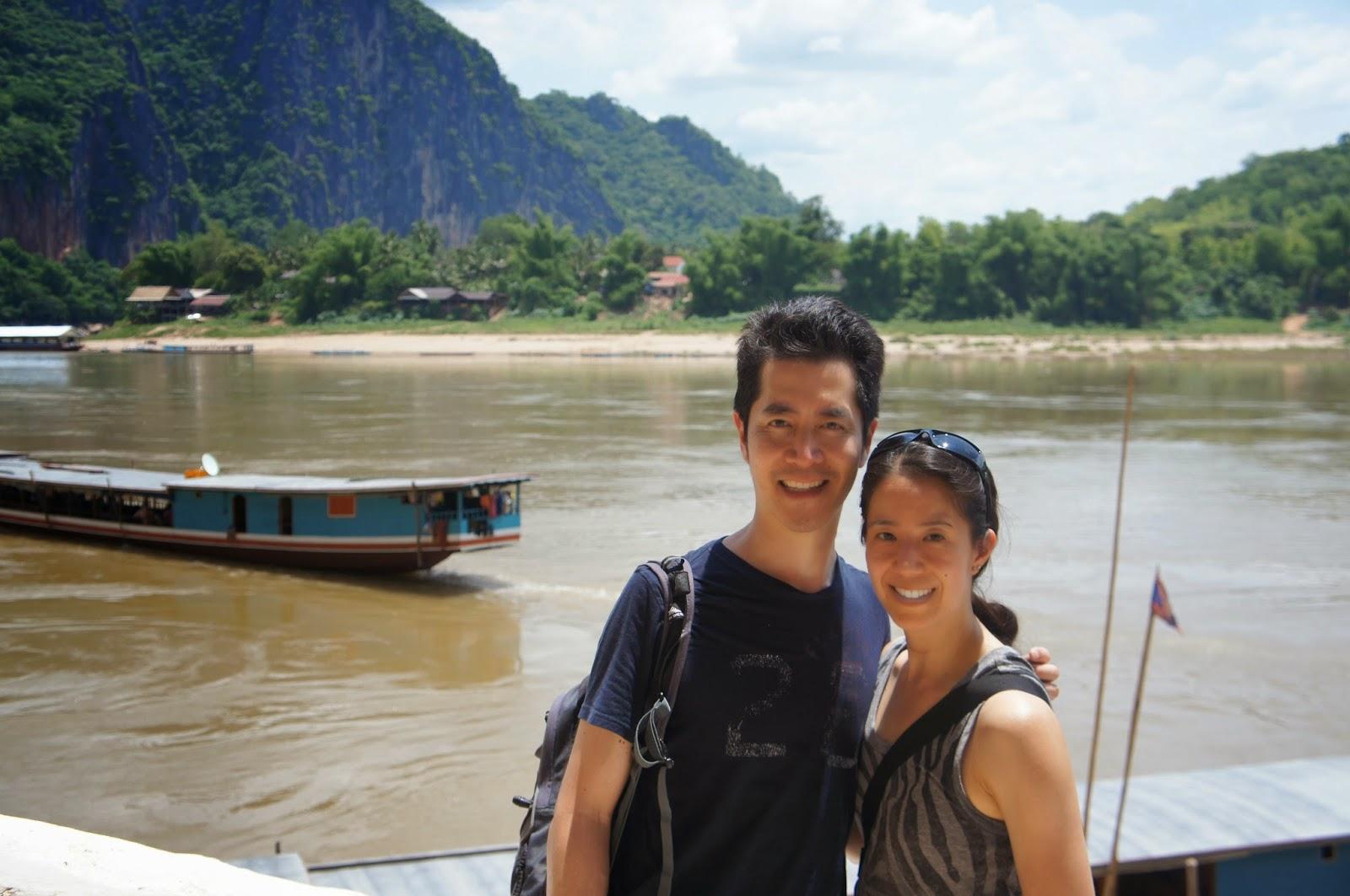 Luang Prabang - Photo op along the Mekong River