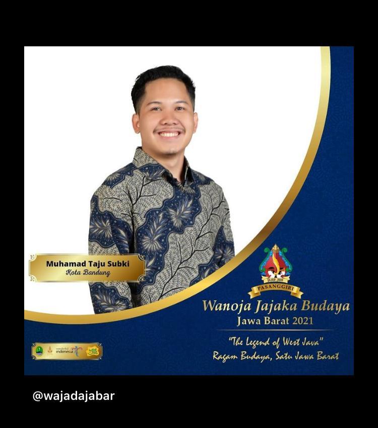 Taju Subki Mahasiswa KPI UIN Bandung Masuk Finalis WAJADA Jabar 2021