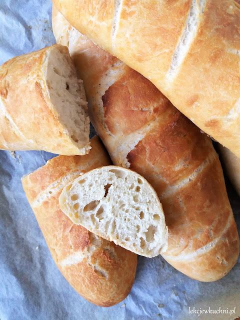 Pszenny chleb bez wyrabiania na drożdżach świeżych lub suchych przepis