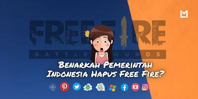 Benarkah? Pemerintah Indonesia akan Hapus Free Fire?