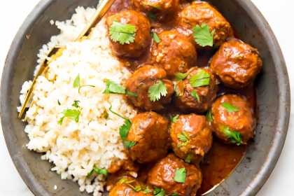 Indian Meatballs Recipe With Creamy Sauce