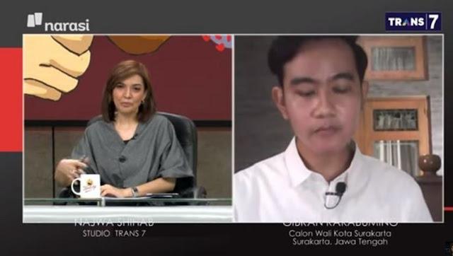 Dicecar Pertanyaan Najwa Shihab, Jawaban Gibran Jadi Sorotan, Netizen: Astaghfirullah, Gak Nyambung!