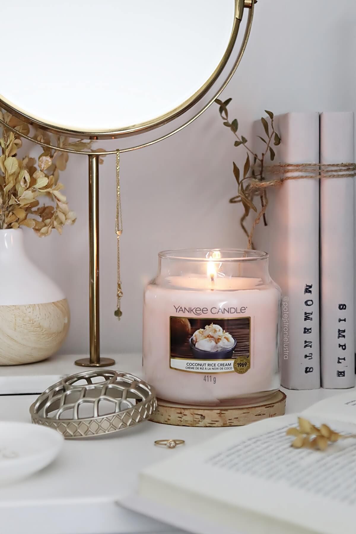 coconut rice cream nowy zapach yankee candle na wiosnę 2021