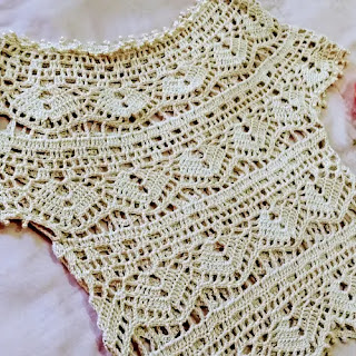 Canesú Annie a Crochet