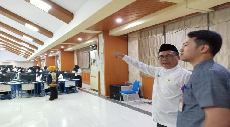 Pelaksanaan SKD CPNS Pemerintah Kota Tangerang di Awasi oleh Ombudsman RI Perwakilan Banten