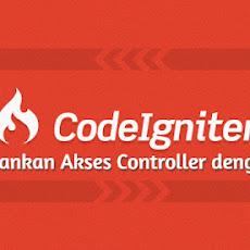 Mengamankan Akses Controller pada CodeIgniter