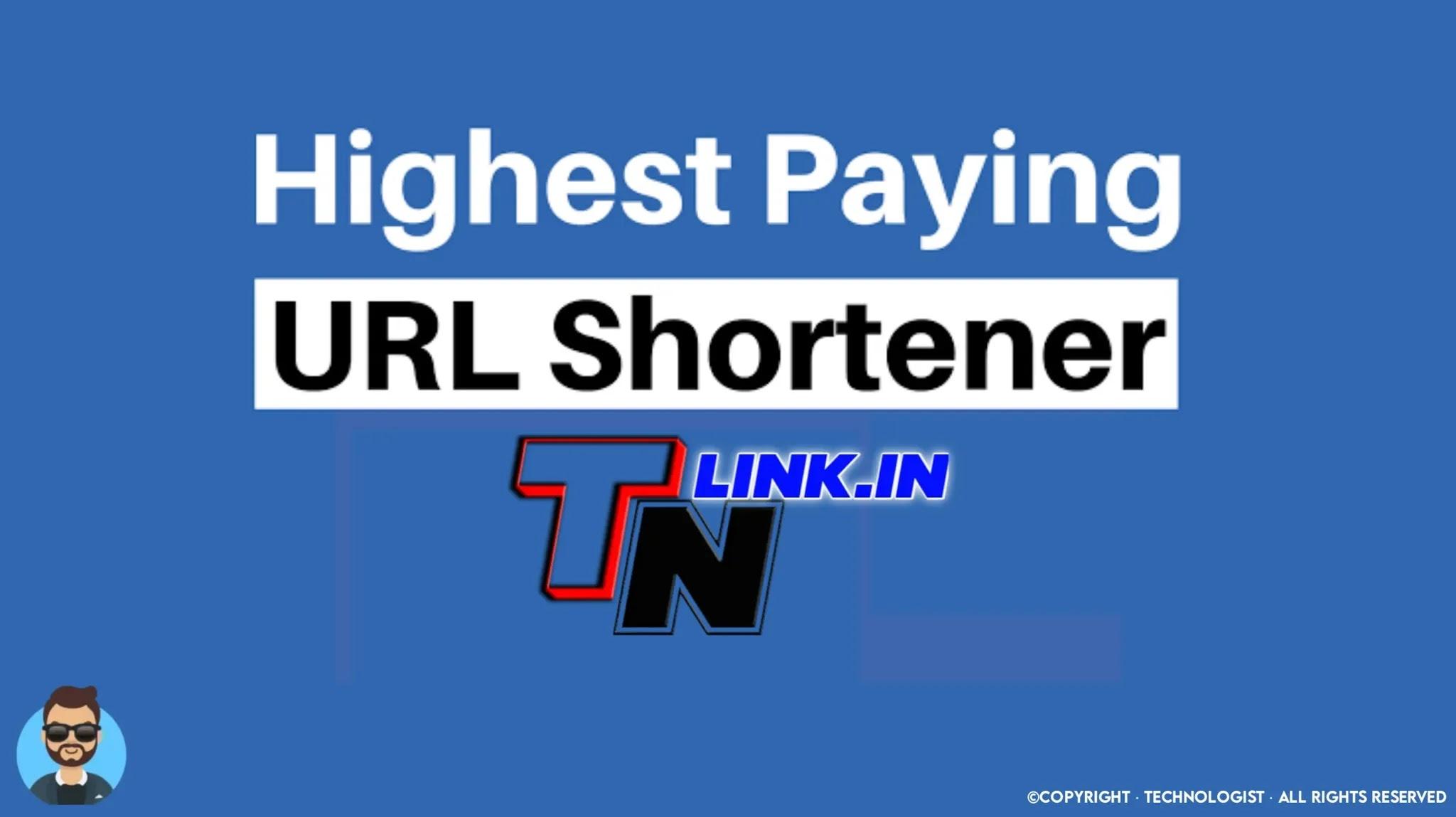 TNLink | Best URL Shortener 2021
