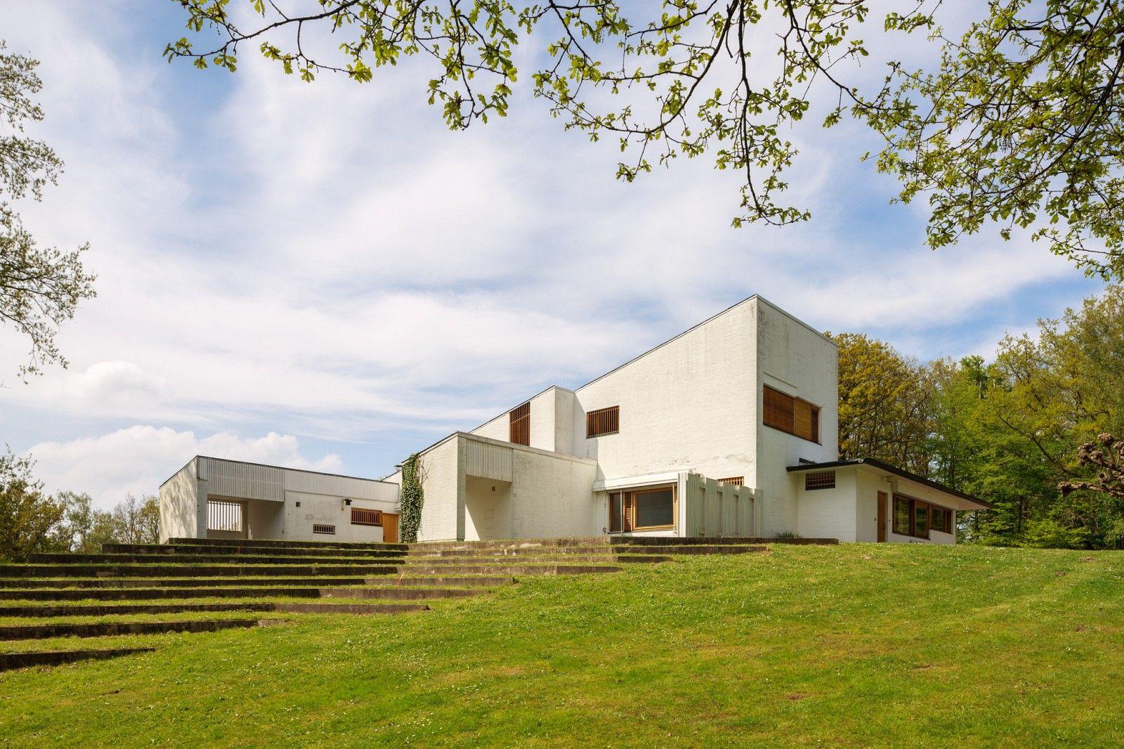 Meuble Salle De Bain Pierre Et Bois ~ Carre Maison Maison Louis Carr Architecte Alvar Aalto Stock Photo