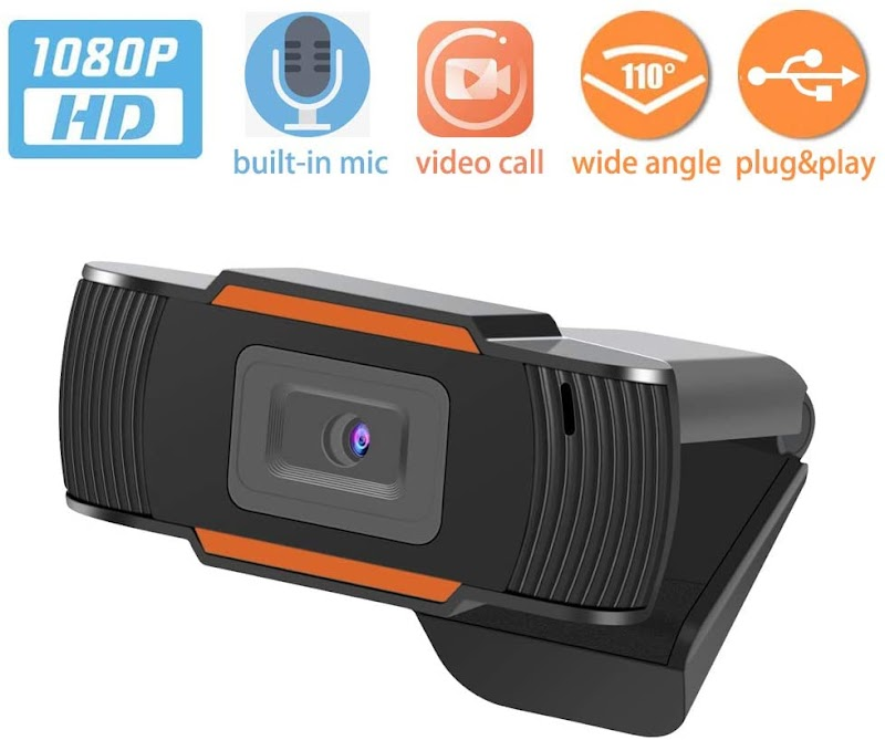 60%OFF HD1080P Web Camera