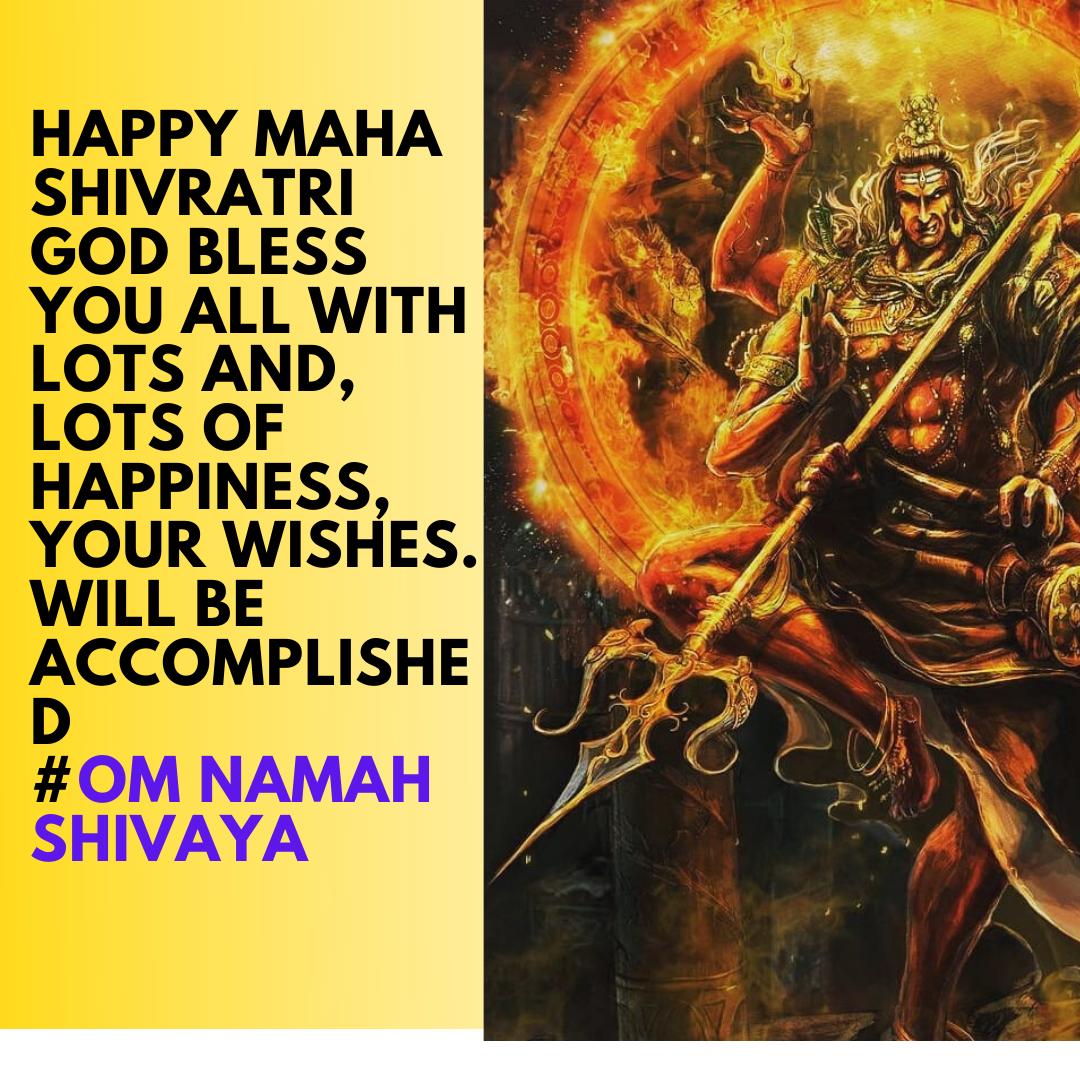 Om Namah Shivaya WISHES 2021