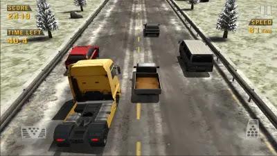 تحميل لعبة traffic racer مهكرة