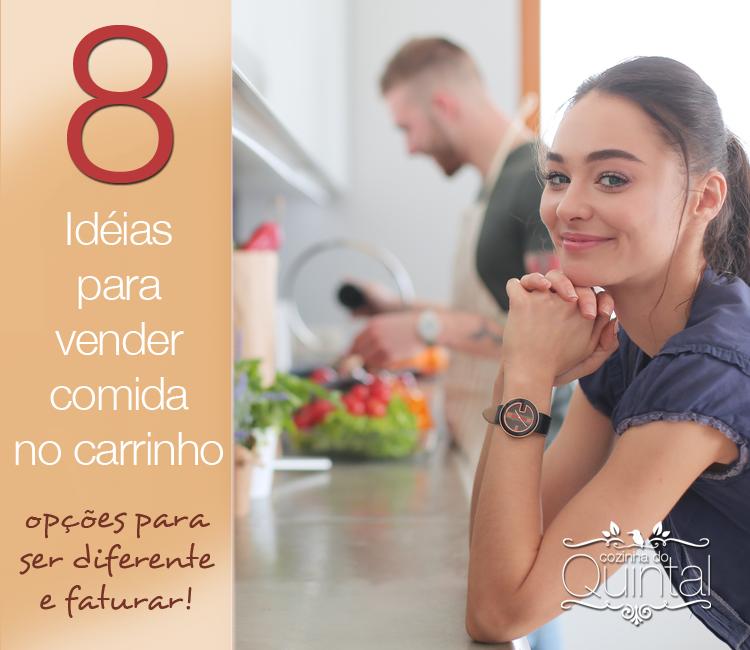 8 idéias para vender comida no carrinho de cachorro quente!
