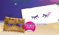 Logo Lines ''Occhi solo per te'' 2° e 3° edizione: come premio certo pochette con paillettes o in yuta