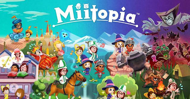 Imagem de Miitopia para Nintendo Switch