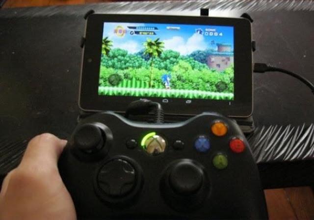 Menghubungkan android dengan perangkat game