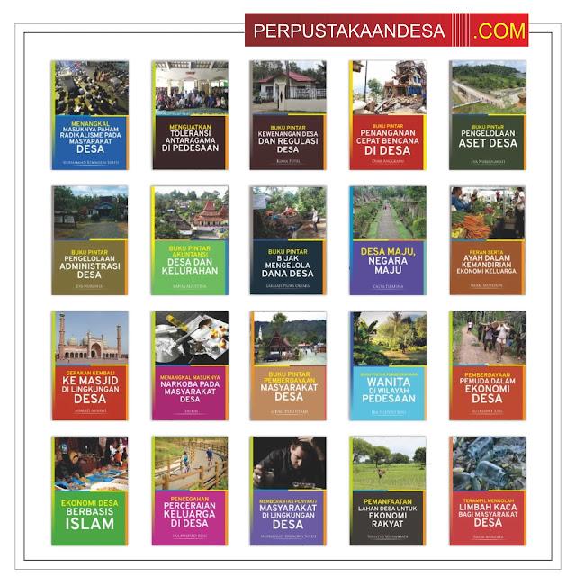 Contoh RAB Pengadaan Buku Desa Kabupaten Morowali Utara Sulawesi Tengah Paket 100 Juta