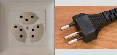 Instalaciones eléctricas residenciales - Enchufe tipo J