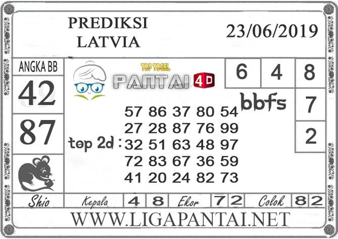 """PREDIKSI TOGEL """"LATVIA"""" PANTAI4D 23 JUNI 2019"""
