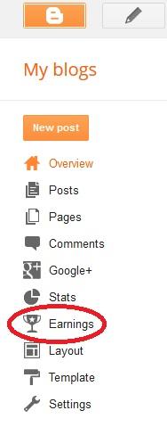 cara menampilkan adsense di blogspot melalui dashboard blogger