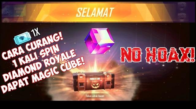 Cara Mendapatkan Magic Cube Gratis di Diamond Royale