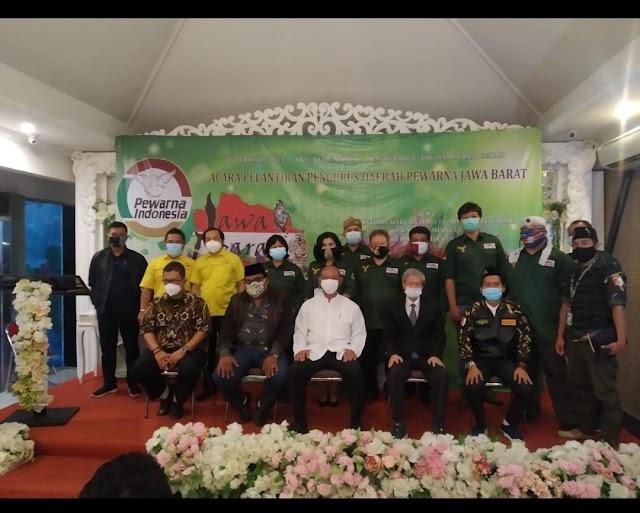 Pelantikan Pengurus DPD Pewarna Jawa Barat