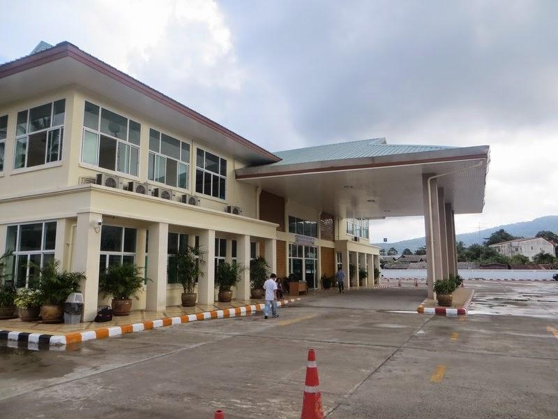 новый автовокзал на Самуи