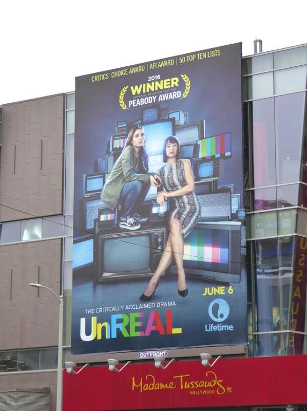 UnREAL season 2 billboard