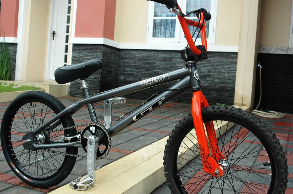 Gambar Warna Sepeda Bmx Keren