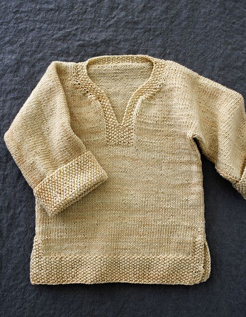 Easy Pullover for Babies, Toddlers and Kids - Free Pattern