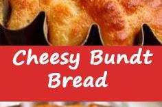 Cheesy Bundt Bread