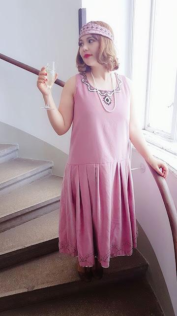 1920s dress, 20s dress, auris lothol, flapper, roaring 20s,