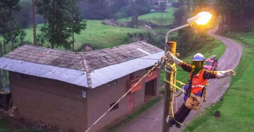 Tarifas de energía eléctrica para las familias no subirán, informó el Ministro de Energía y Minas, Jaime Gálvez