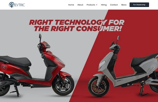 evtric-electric-scooters