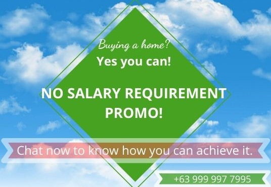 No Salary Requirement Promo at Lancaster New City