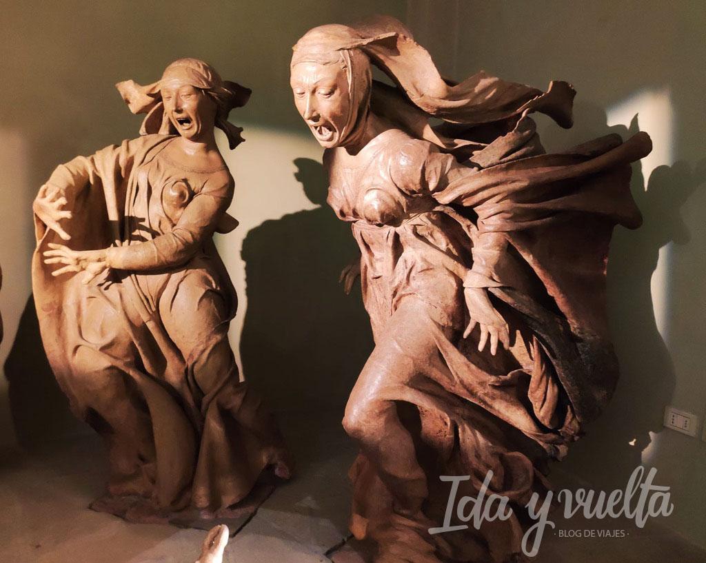 Compianto Santa Maria della Vita Bolonia Magdalena y María de Cleofás