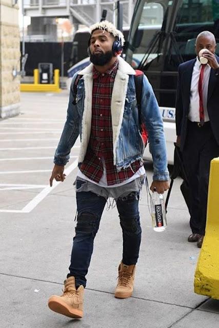 Look Masculino com Xadrez e Jaqueta Jeans de Pelos