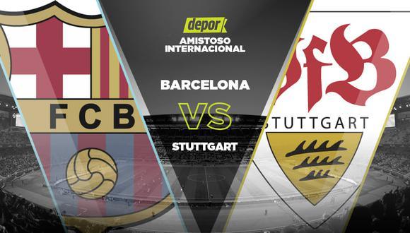 Barcelona vs. Stuttgart: guía de canales TV por amistoso internacional