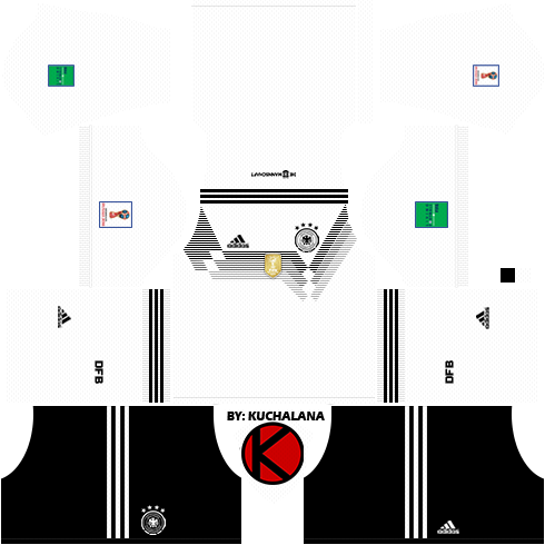 3f9dacd5665 Germany 2018 World Cup Kits - Dream League Soccer Kits - Kuchalana